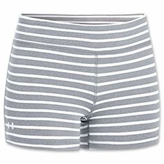 Women's Under Armour Ultimate Shorty Shorts | FinishLine.com | True Grey Heather/White