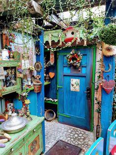Bohemian Interior, Bohemian Decor, Dream Rooms, Outdoor Rooms, Home Decor Inspiration, House Colors, Garden Art, Home Projects, Decoration