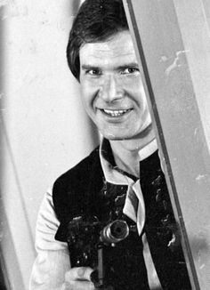 Vintage Star Wars Empire Strikes Back Harrison Ford Han Solo Harrison Ford, Indiana Jones, Star Wars I, Illinois, Wow Photo, Science Fiction, Westerns, Han And Leia, Saga