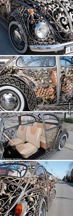 Incredible bug body from a Croatian metalwork shop.