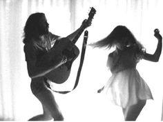 Jim Morrison + Pamela Courson