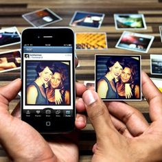 StickyGram is a personalized printing service that turns your Instagram images into lovely little magnets.