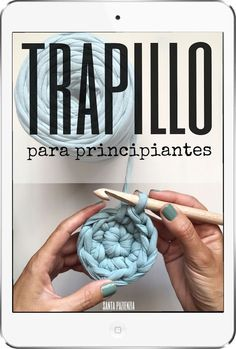 Curso Trapillo para principiantes / Santa Pazienzia Más We are want to say thanks if you like to share this post to another people via your . Love Crochet, Diy Crochet, Crochet Projects, Sewing Projects, Knitting Patterns, Crochet Patterns, Cotton Cord, Crochet T Shirts, Diy Couture