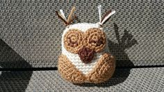 With this pattern, you will be able to make your very own Sleepy Little Owl. He…