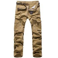 Item Type: Full Length Gender: Men Fit Type: Regular Brand Name: Deer Gary Waist Type: Mid Fabric Type: Broadcloth Length: Full Length Closure Type: Elastic Waist Decoration: Pockets Pant Style: Cargo