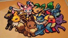 Perler pokemon eevee evolutions