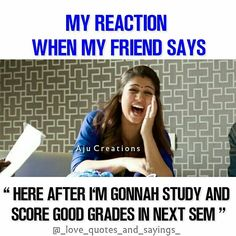 Alaways never thirunthaatha nasrin Friend Jokes, Best Friend Quotes Funny, Cute Funny Quotes, Besties Quotes, Sister Quotes, Really Funny Memes, Funny Facts, Friend Cartoon, Funny School Memes