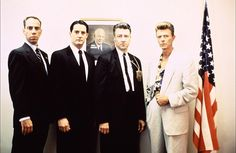 Twin Peaks - Fire Walk With Me: Albert, Cooper, Gordon and Phillip