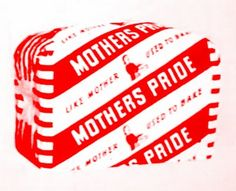 'Mother's Pride Bread'  in the 1960's. The packaging has changed but Mother's Pride bread is still made by British Bakeries (set up by Rank,Hovis, McDougall in 1955) who also make Hovis & Nimble. Mother's Pride, which had been sold in the North since at least 1936 (an ad appears for Mother's Pride bread produced by W J Brookes & Sons, Bakers, Old Trafford, Manchester) was marketed as a national brand by the new division in 1956. In the '70s & '80s, it was the best selling white bread in the…