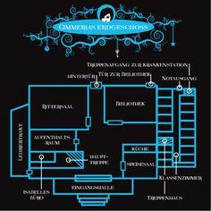 Cimmeria - der Aufbau: Erdgeschoss Night School, Httyd, Savage, Good Books, Harry Potter, Fandom, Movies, Movie, Libros