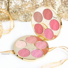Tarte Cosmetics Limited Edition Blush Colour Wheel - Makeup Holiday Collection 2016 | Instagram - @ elleymae