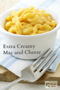 ... and cheese extra creamy mac and cheese more food recipes macaroni