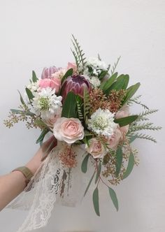 Boho inspired bridal bouquet In the shop: Favourites this month on periwinkleflowers.blogspot.com