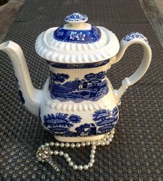 Copeland Spode's Tower Transferware by Birdcagevintagefinds, $125.00