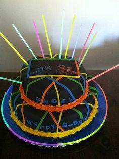 Laser-tag Cake