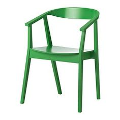 STOCKHOLM Chair - green - IKEA. Imaging them for a beautiful old wood harvest table
