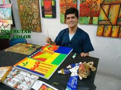CLASES DE ARTE Y MANUALIDADES EN DISTRIARTISTAS - YouTube Arte Country, Youtube, Color, Art Rooms, Picture On Wood, Hand Art, Pointillism, Crafts For Kids, Colour
