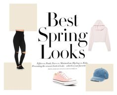"""""""Untitled #11"""" by erna-hotovic ❤ liked on Polyvore featuring H&M, Converse and Mudd"""