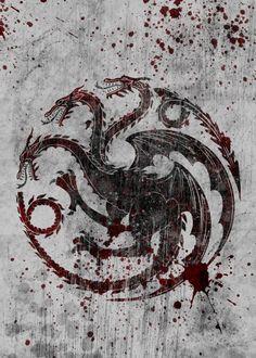 House Targaryen Game of Thrones (Geek Stuff)