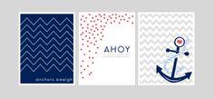 Free Printable Tuesday: Nautical Nursery Prints | Ally Jean