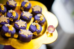 Cute Tangled cookies at a Princess Party #princess #party