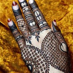 Henna Tattoo Designs Images - 100 Wedding Henna Designs on Hand for Brides. this is the best henna tattoo images collection with various pattern