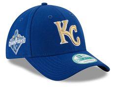 Kansas City Royals New Era MLB 2015 World Series Commemorative Gold 9FORTY Cap Hats