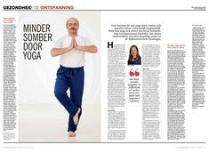 Gepubliceerd in de Leeuwarder Courant en het Dagblad van het Noorden, 22 februari 2018 Veel mensen die aan yoga doen, voelen zich daardoor beter. Lichamelijk én geestelijk. Maar kan yoga ook zinvol zijn bij de behandeling van depressieve klachten? Dat testen onderzoekers van GGZ-instelling Lentis en de Rijksuniversiteit Groningen momenteel. Het begon allemaal met de…