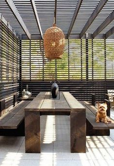 If space allows, a large shade umbrella can be incorporated into the design. Or you can look at building a simple pergola with slatted roof that…