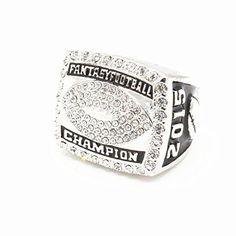 2015 Fantasy Football Championship Ring Trophy Prize Super Bowl Size 11