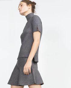 Image 4 of GODETS SKIRT from Zara
