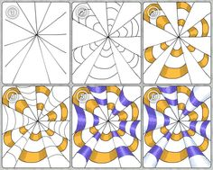Mrs. Artwork - glimpses of my art education: Op Art - Part 1: Cones