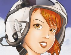 "Check out new work on my @Behance portfolio: ""Girl Pilot"" http://on.be.net/1ec2WVQ"
