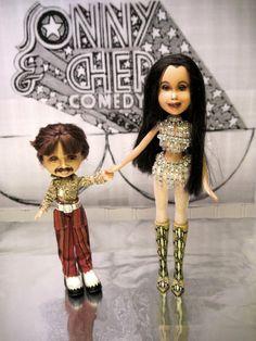 Cher Doll Sony & Cher Art Doll Bratz dolls by TheWoodsSecretGarden