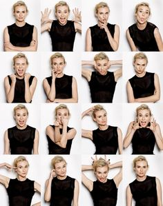 ideas funny face portrait facial expressions for 2019 Expressions Photography, Face Photography, Poses References, Diane Kruger, Posing Guide, Body Poses, Face Expressions, Girl Humor, Funny Faces