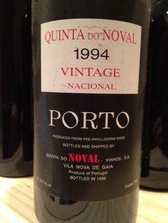 1994 Quinta do Noval Porto Vintage Nacional - RJ100 pts