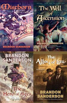 Mistborn by Brandon Sanderson: The heart of this series is in the intricate and cleverly deployed system of magic that powers it. Allomancers have different abilities tied to different metals, and there is a real thrill in watching the characters learn and master their craft and combine forces as they attempt to overthrow a corrupt and oppressive regime.