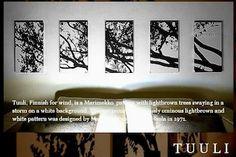 Fabric Panel /marimekko Marimekko and art Panel / /TUULI / mi / Northern Europe / each color with