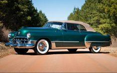 1949 Cadillac Series 62 Convertible Coupe authorBryanBlake.blogspot.com #1949cadillacconvertibleclassiccars