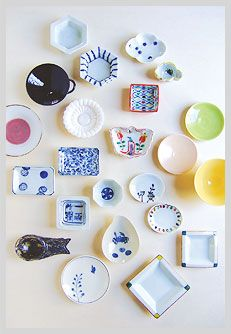 Mame zara (Japanese style small plate.(about 2-4inch)