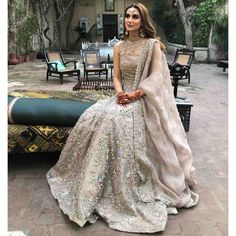 Zuria Dor is redefining contemporary Pakistani fashion; where design, techniques, ethics, sustainability and tech go hand in hand. To view… Indian Bridal Outfits, Pakistani Wedding Dresses, Pakistani Dress Design, Pakistani Outfits, Latest Pakistani Fashion, Pakistani Clothing, Punjabi Wedding, Indian Dresses, Korean Fashion