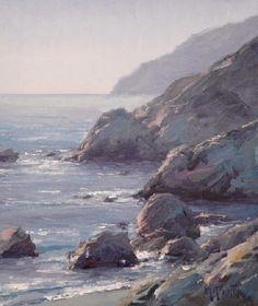 "Matt Smith ~ ""Evening at Little Harbor"" (oil, 12x10)"