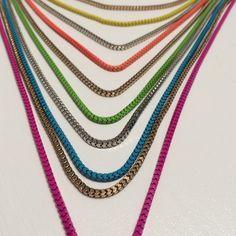 Multi Colored/Strand Necklace Multi colored/ strand necklace. Jewelry Necklaces