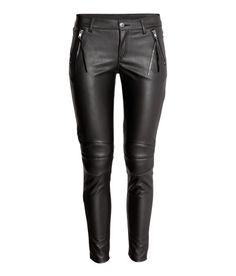 Biker Pants | Black | Ladies | H&M US