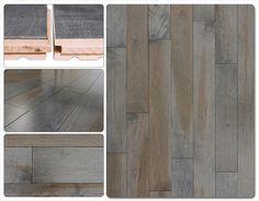 Hardwood Flooring - Hardwood Canadian Maple Collection Charcoal
