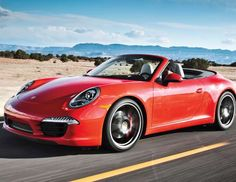 2013 Porsche 911 Carrera S Cabriolet - Provided by MotorTrend
