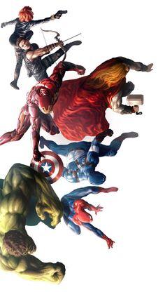 The Avengers by Jong Hwan *