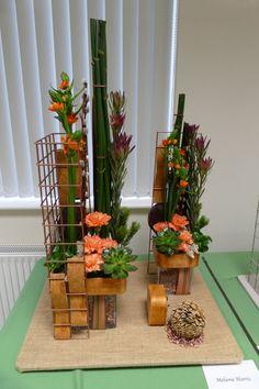 """A Cityscape - Contemporary landscape design """"A sense of place"""" by Melanie Harris Feb 2018 Contemporary Landscape, Landscape Design, Container Design, Sense Of Place, Construction Design, Art Portfolio, Cubes, Flower Designs, Flower Power"""