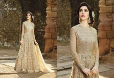Shop Monark Indo Western Salwar Suits Online with the best price Fashion House. Flaunt latest styled cuts and look with these Indian Dresses, Give yourself the stylish look for a Wedding & Party wear. Have a Glance at the Collection Now. Designer Anarkali Dresses, Pakistani Designer Suits, Designer Party Dresses, Wedding Lehnga, Wedding Dresses, Salwar Suits Online, Indian Gowns, Pakistani Outfits, Party Gowns