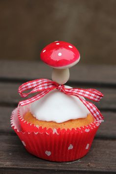 Orangen-Cupcakes